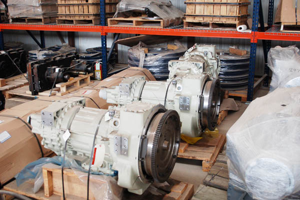 oil rig replacement transmissions allison zero hour in stock